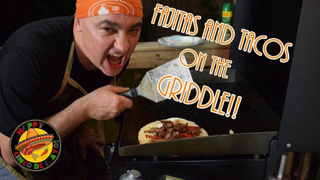 Fajitas and tacos on the blackstone griddle fajitas