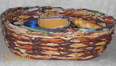 NAROHA: cestería de papel