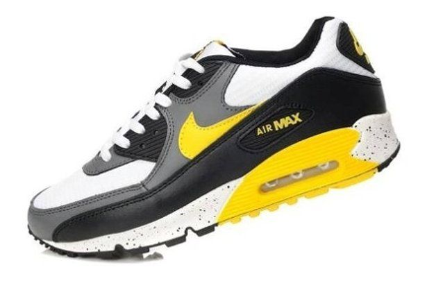 super popular ecf80 58a67 New Hotels De Nike Air Max 90 Shoes Sport For Men Black Yellow Grey with  the latest technology are cheap