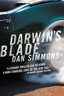 """#NEW: Listen to a sample of the #Thriller """"Darwin's Blade"""" by Dan Simmons right here: http://amblingbooks.com/books/view/darwins_blade"""