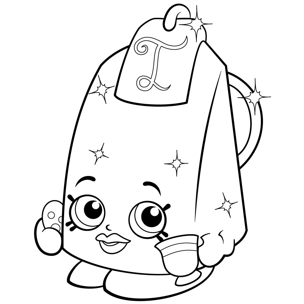 Shopkins Coloring Pages Season 2 Limited Edition Images