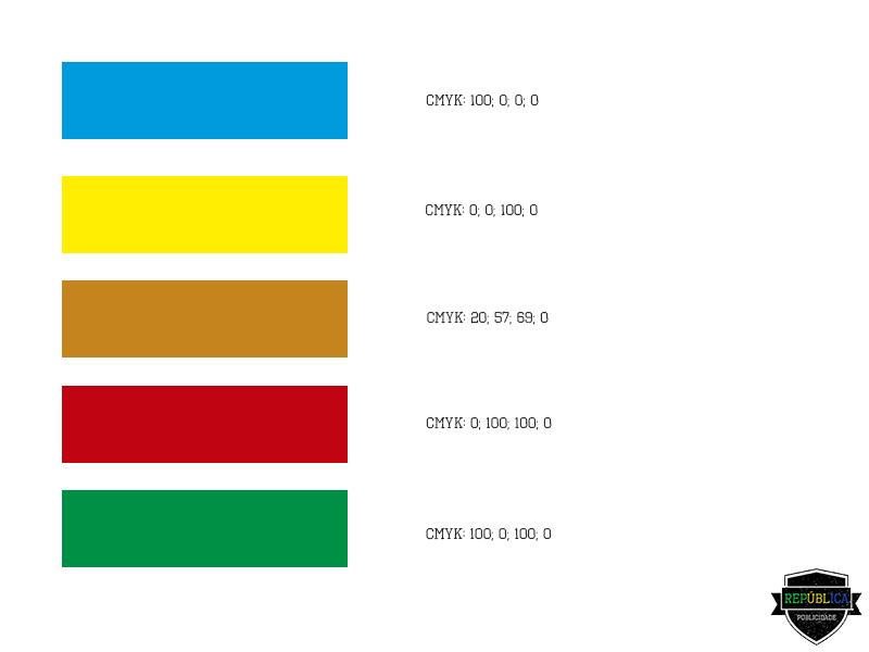 Escala cores