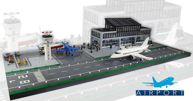 Posted Image Lego Pinterest Lego Airport Lego And Lego Creations
