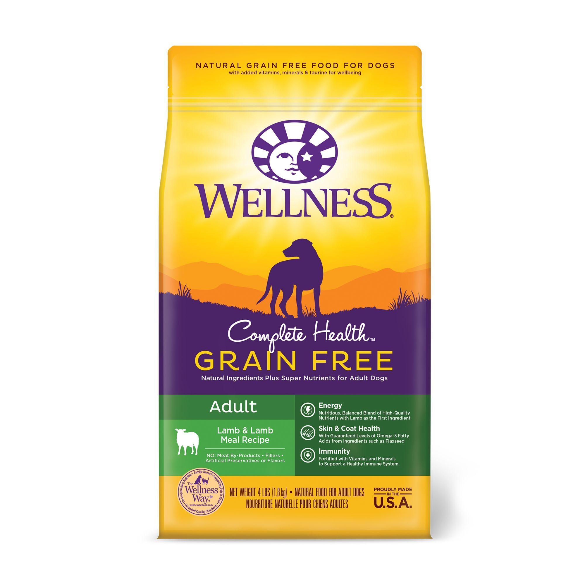 Wellness Complete Health Adult Dog Food Natural Grain Free