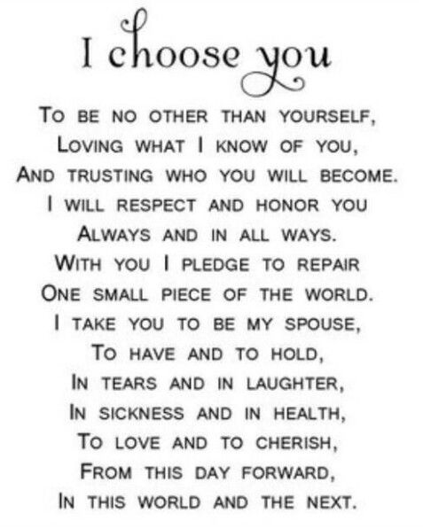 Pin by gi gi on vows pinterest wedding wedding vows and weddings the vow image source 13 nontraditional wedding vows that will make you believe in love again image source wedding vow ideas both traditional and junglespirit Images