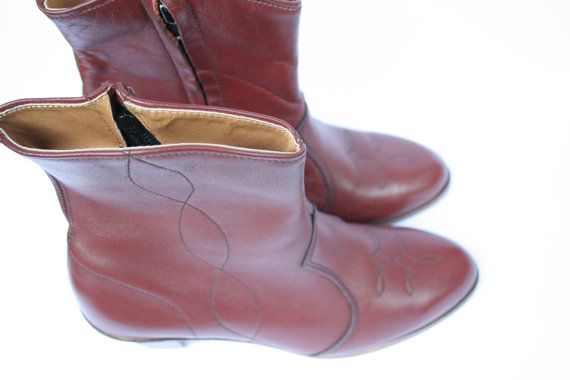 Union Made Vintage Indie Boots 50s 60s 70s Made In by ILuvTheNW
