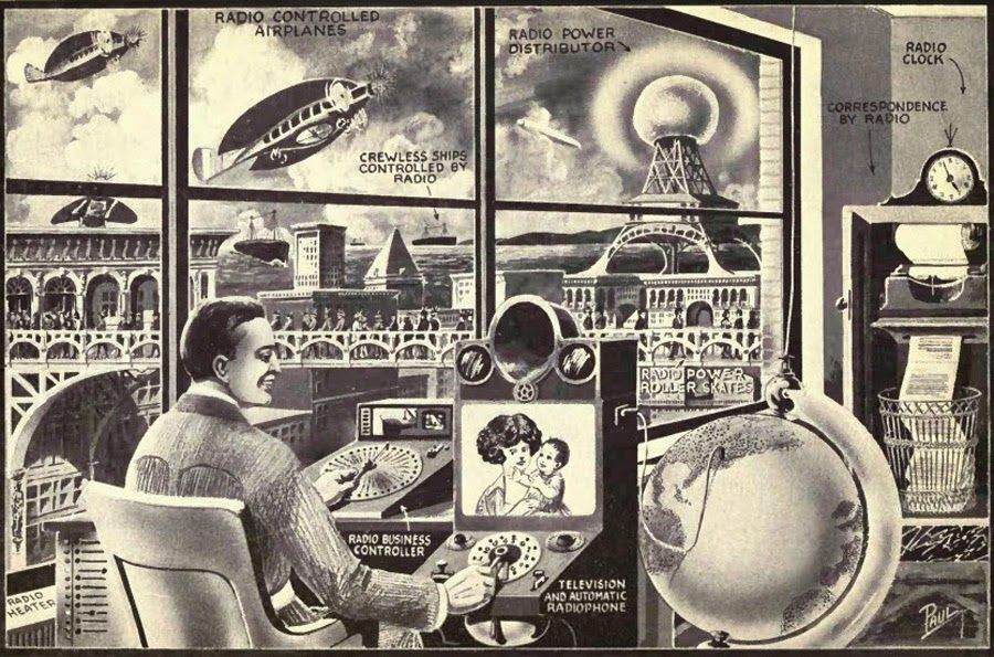 Dark Roasted Blend: Videophones from the Future Past