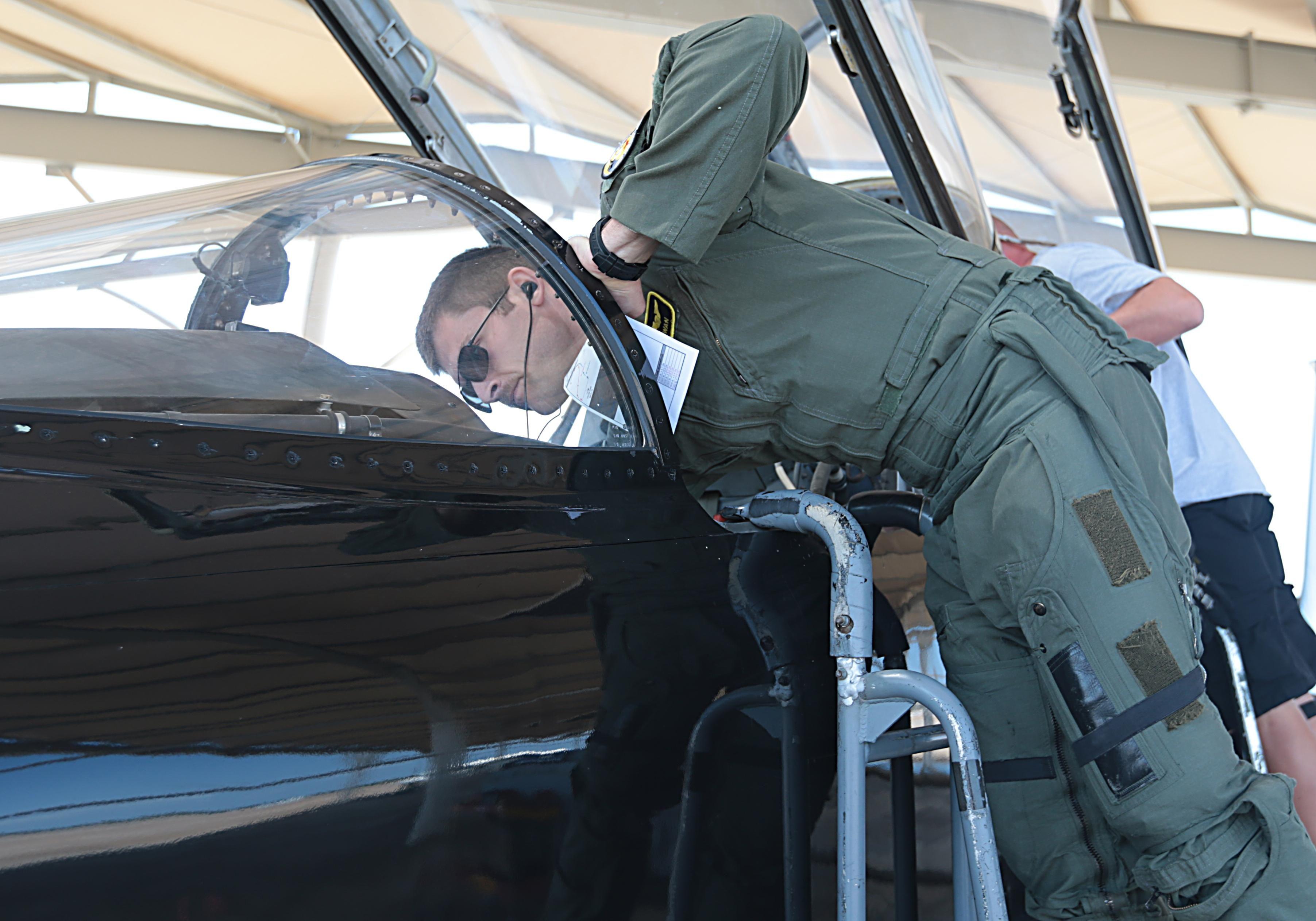 A day in the life of a T38 Talon pilot T 38 talon