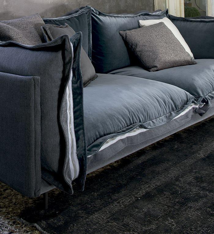 Detalle sofá Auto-reverse de Arketipo