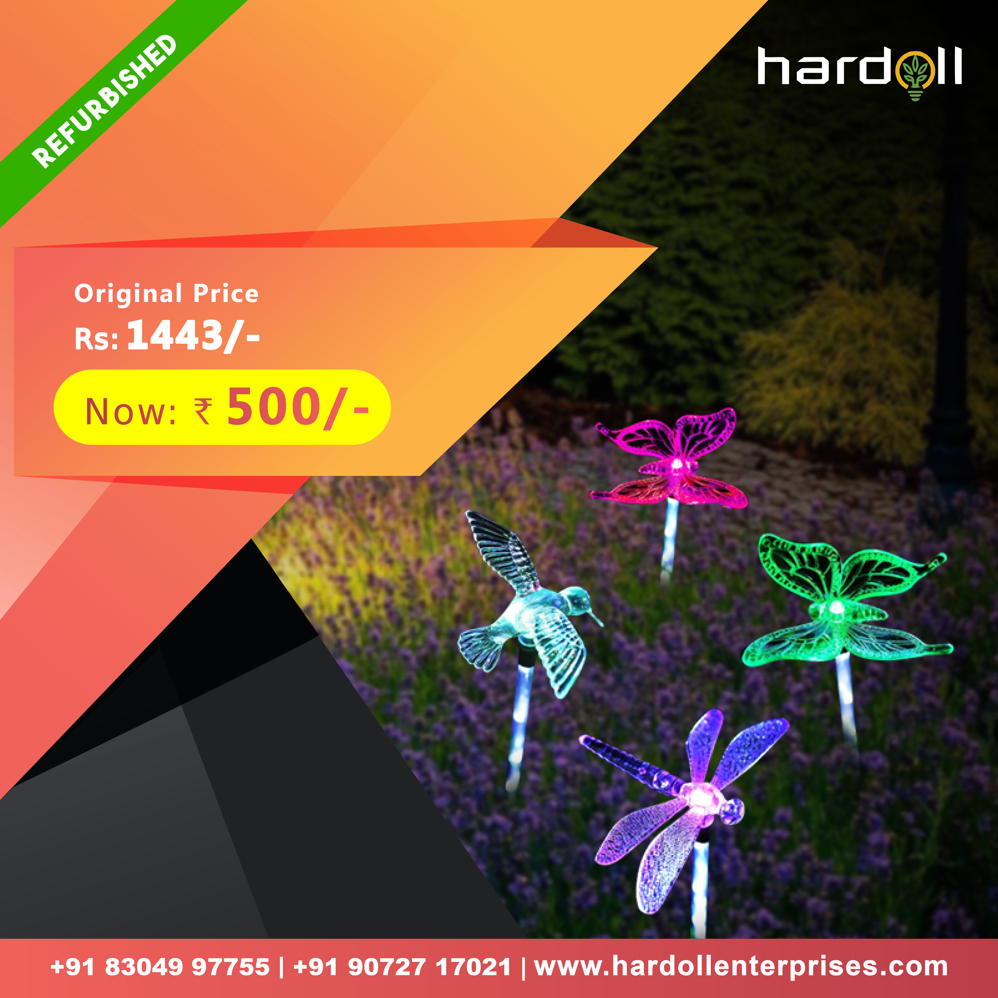 Buy Butterfly, Dragonfly, Hummingbird Garden Decorative Solar Light and Bring Home Nature and Happiness  #GardenDecorativeSolarLights #BestGardenIdeas #DecorativeSolarLightsforGarden #BestGardenIdeas #BestSolarDecorativeOutdoorLights #SolarLightsforGarden #BestSolarLightsforGarden #HardollSolarLights #HowtoDecorateGarden #HowtoDecorateBalcony #BuySolarLightsforOutdoorOnline