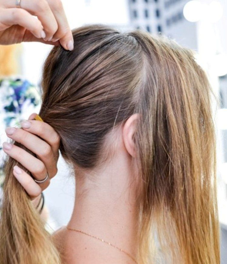 How To Make A Chic Chignon In 6 Easy Steps In 2020 Easy Chignon Chignon Hair Chignon Bun