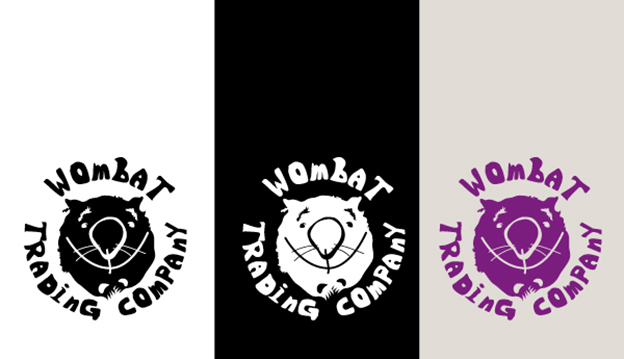Wombat Trading Company logo by de_singer