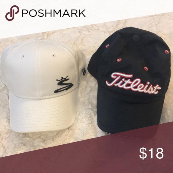 New Era And Titleist Golf Hat Bundle Hats For Men Titleist Golf Golf Hats