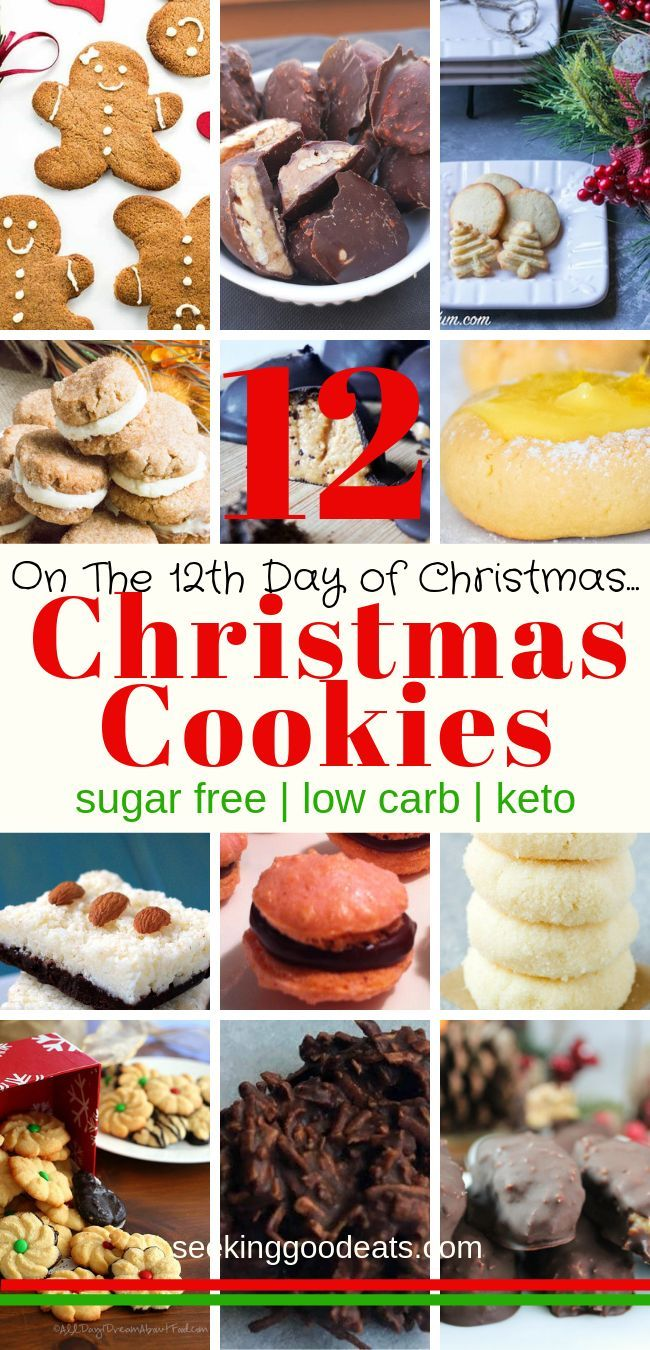 The 12 Days Of Christmas Keto Cookies Keto Diet Keto Cookies