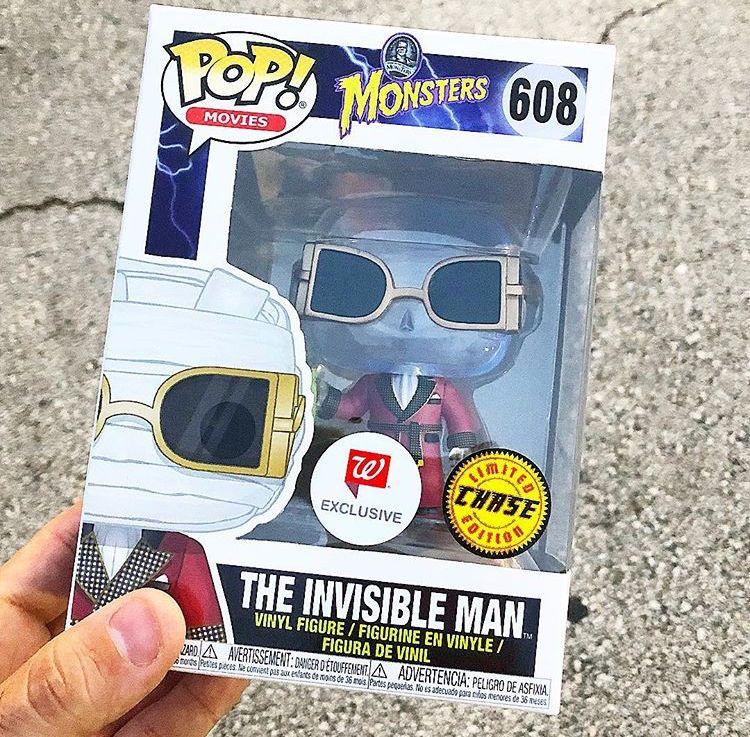 The Invisible Man Vinyl Figure 608 Funko
