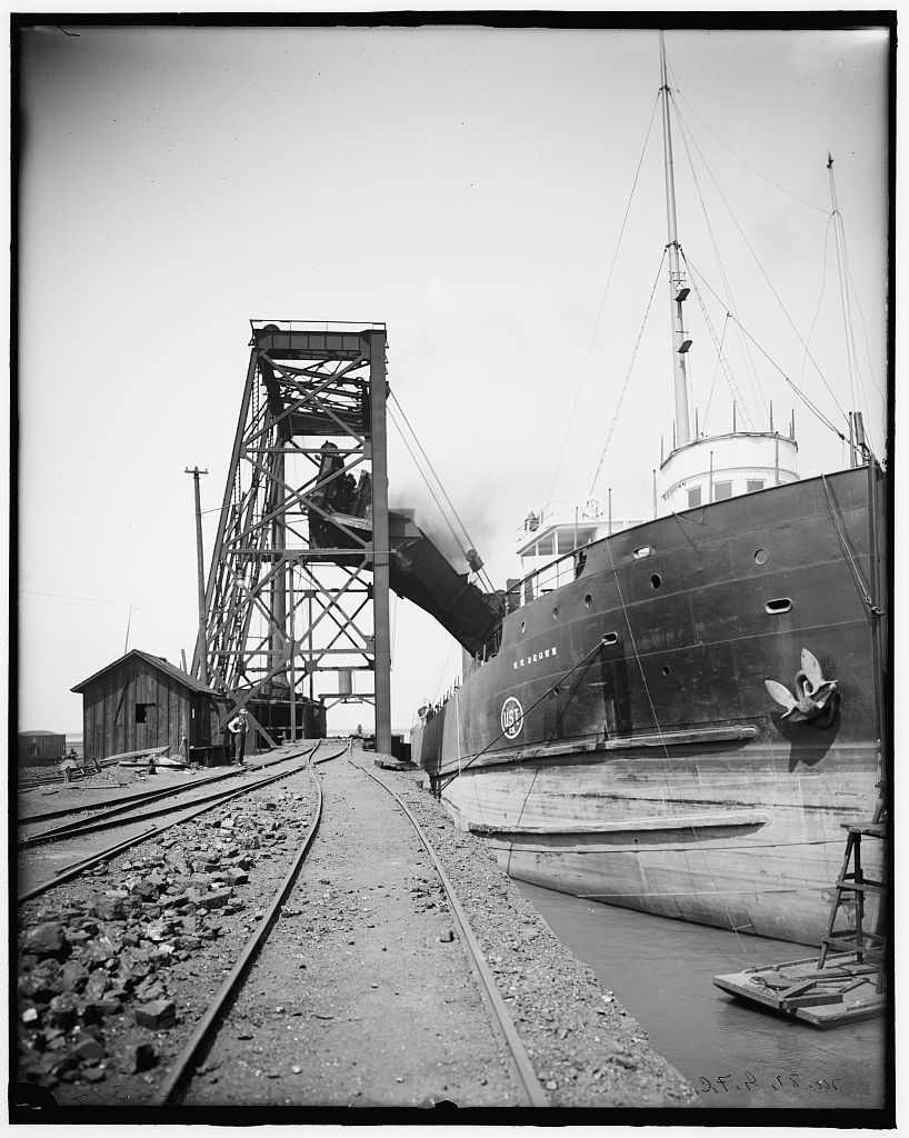 16 x 20 Gallery Wrapped Frame Art Canvas Print of Freighter W W ...
