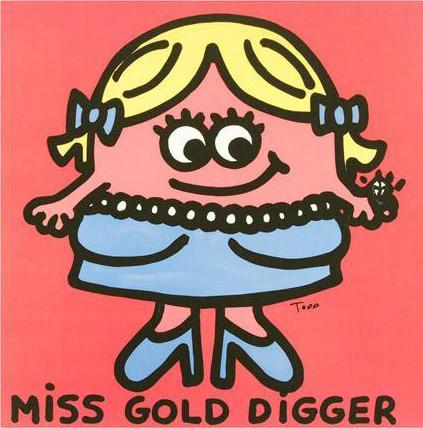 Miss Gold Digger Limited Edition Giclee On Canvas By Todd Goldman Gold Digger Limited Edition Giclee Fine Art Giclee Prints Aynı zamanda mükemmel erkeğini seçmek için eşsiz bir flört teorisi vardır. pinterest