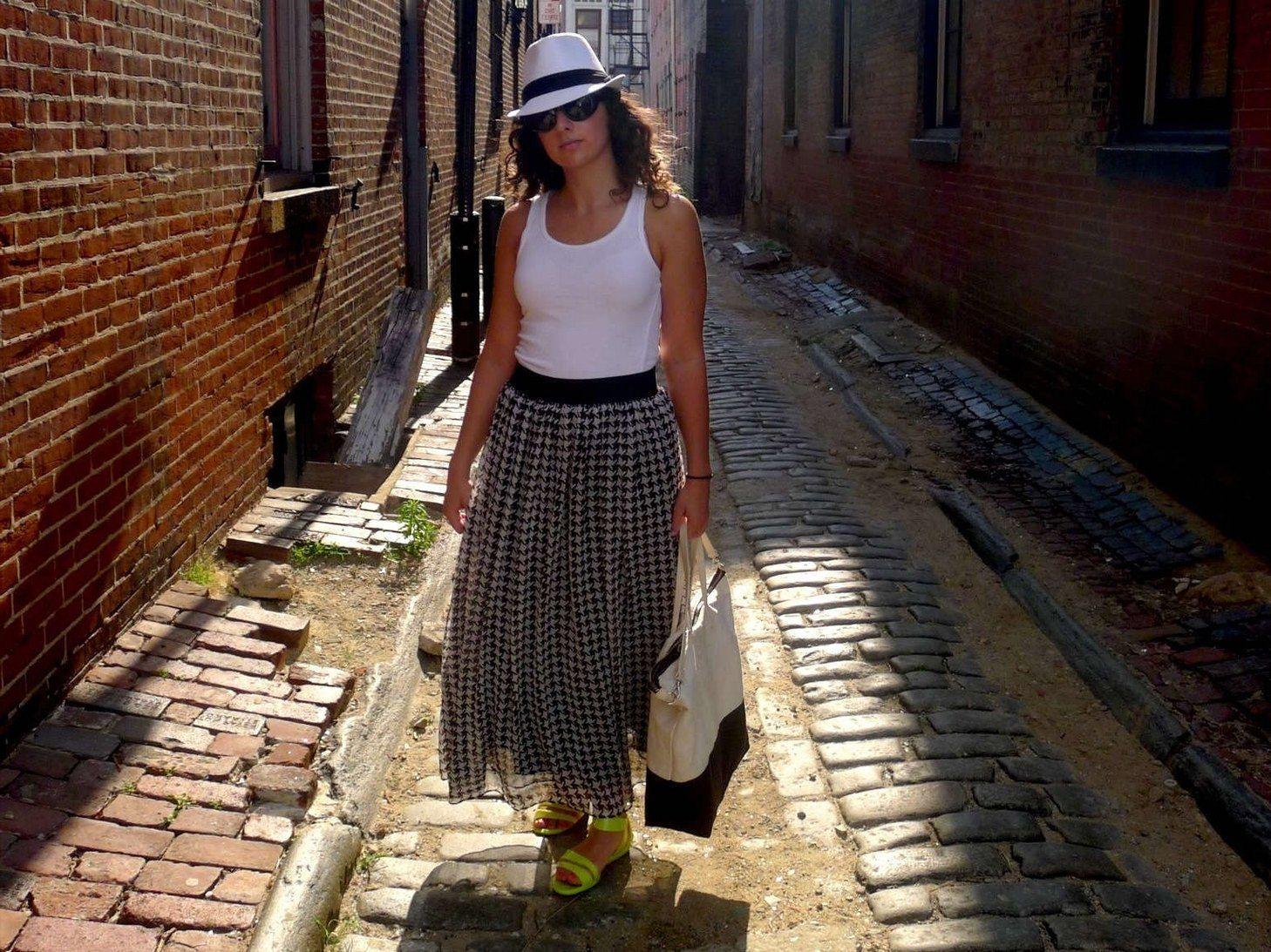 Grey Felt Hat Outfits  Casual Fashion White Cotton Black -6637