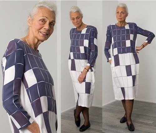 Платье для старушек фото