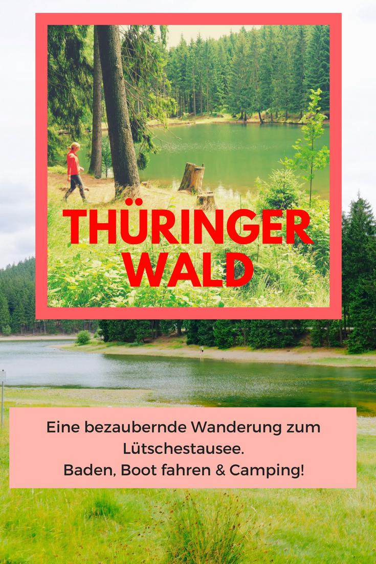 Wandern Im Thuringer Wald Ein Bezaubernder Weg Zur Lutschetalsperre Thuringer Wald Wanderung Urlaub In Thuringen