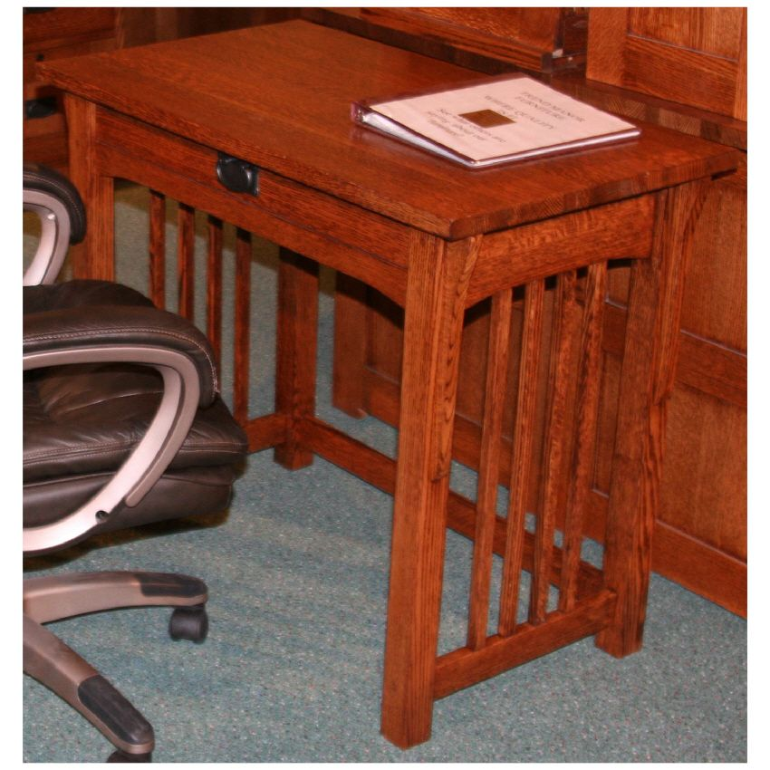 Lovely Small Mission Style Desk From Sugar House Furniture