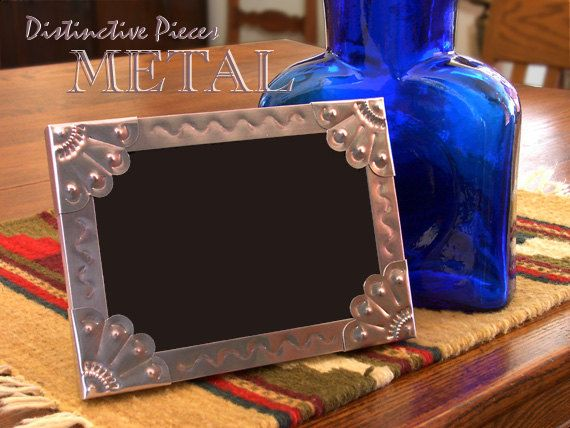 Metal Picture Frame Vines Southwestern By Distinctivepieces