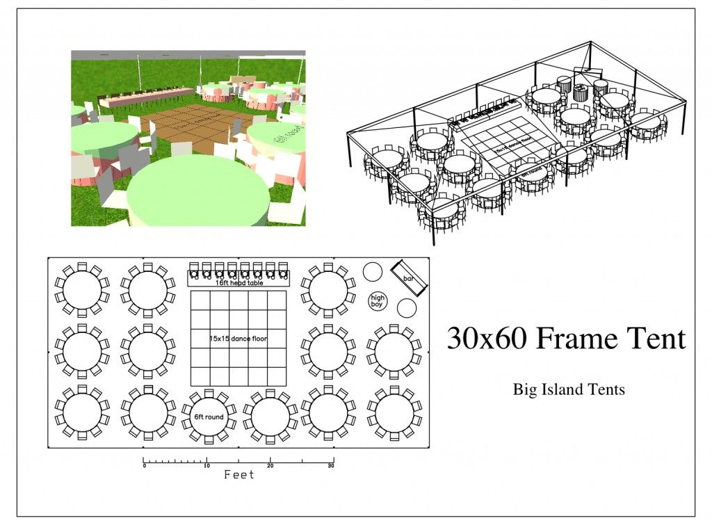 30x60 Layout for reception Wedding reception layout