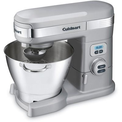 Cuisinart 5.5 Quart Stand Mixer in Brushed Chrome