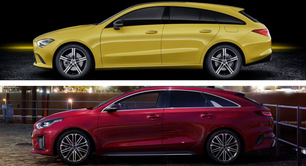 Mercedes Cla Shooting Brake Vs Kia Proceed Which Is The Fairest