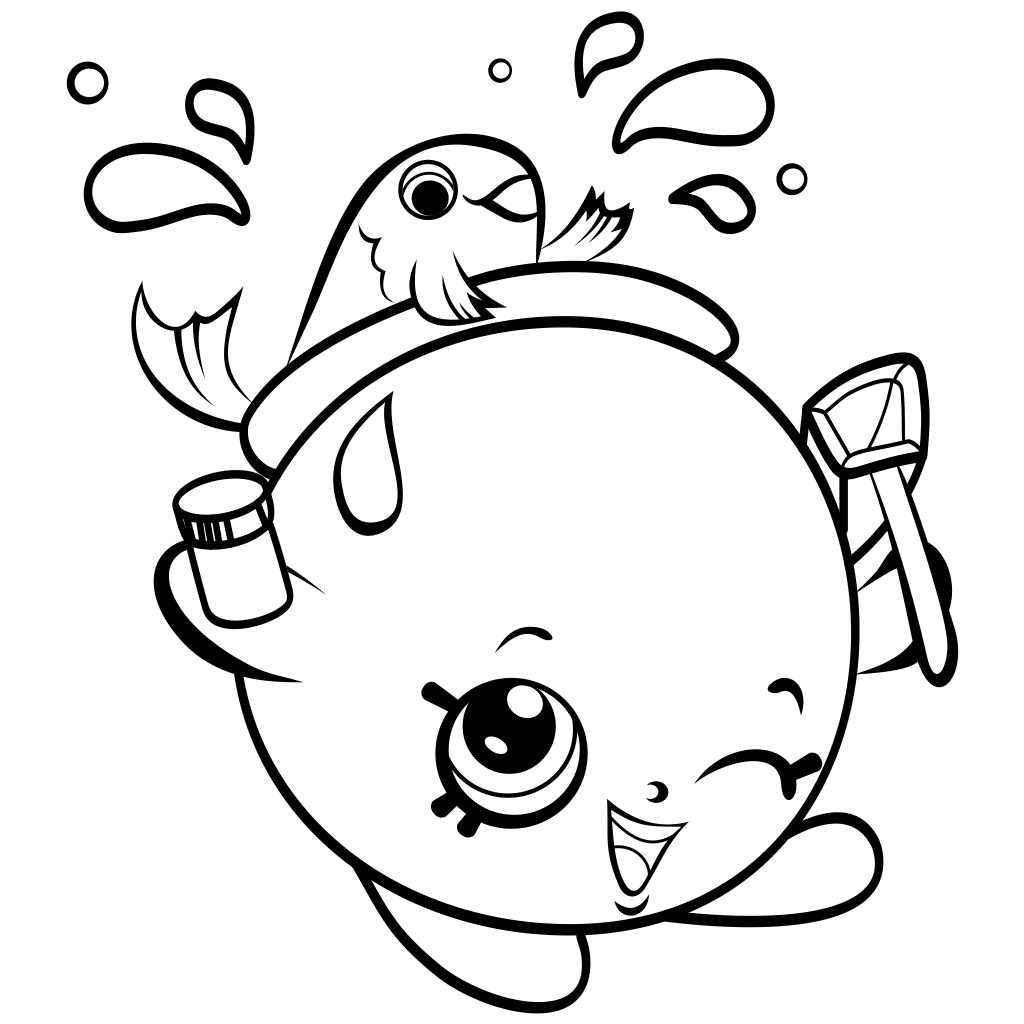 Shopkins Coloring Pages | Shopkin coloring pages, Cute ...