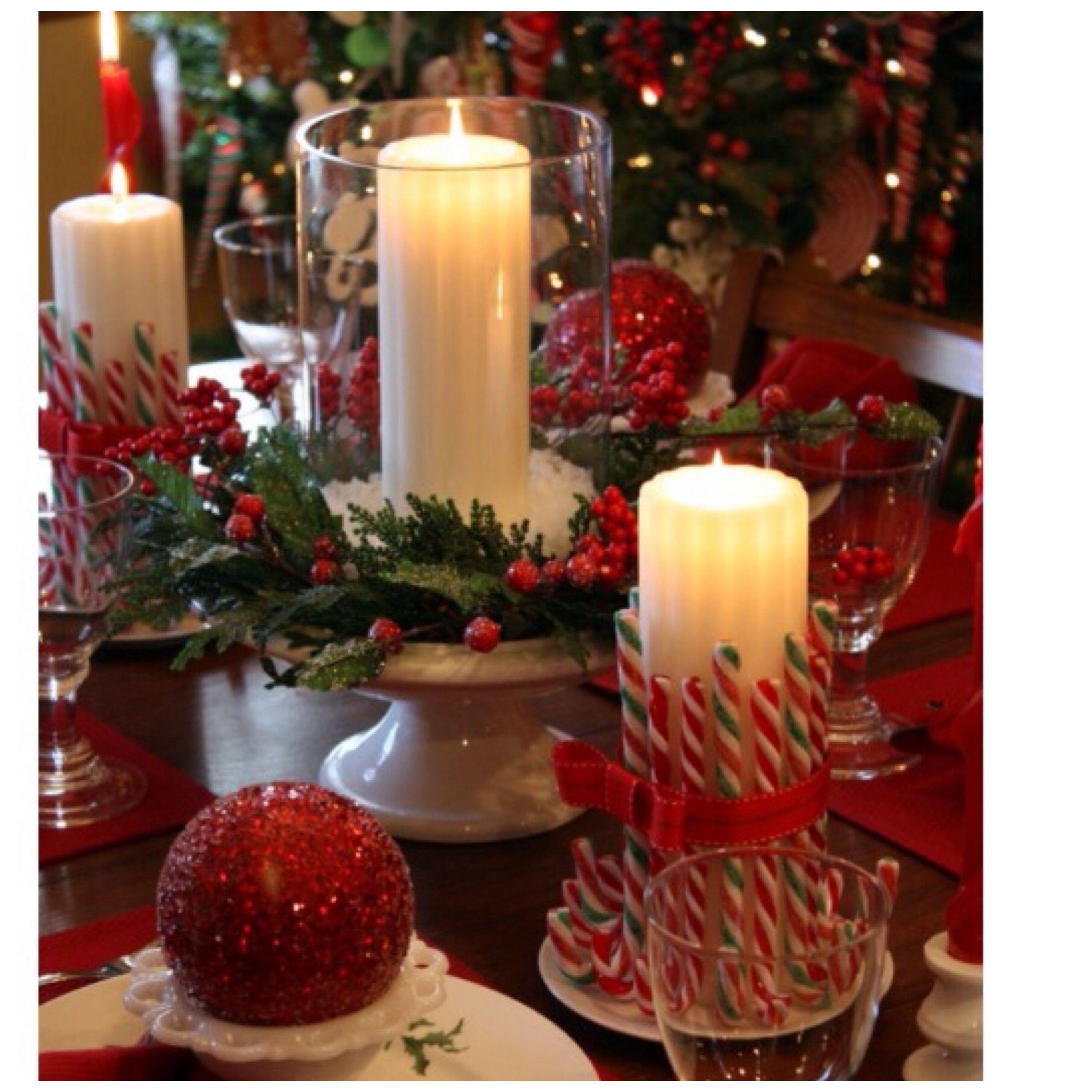 Centro de mesa navide o navidad pinterest centros de - Centros mesa navidenos ...