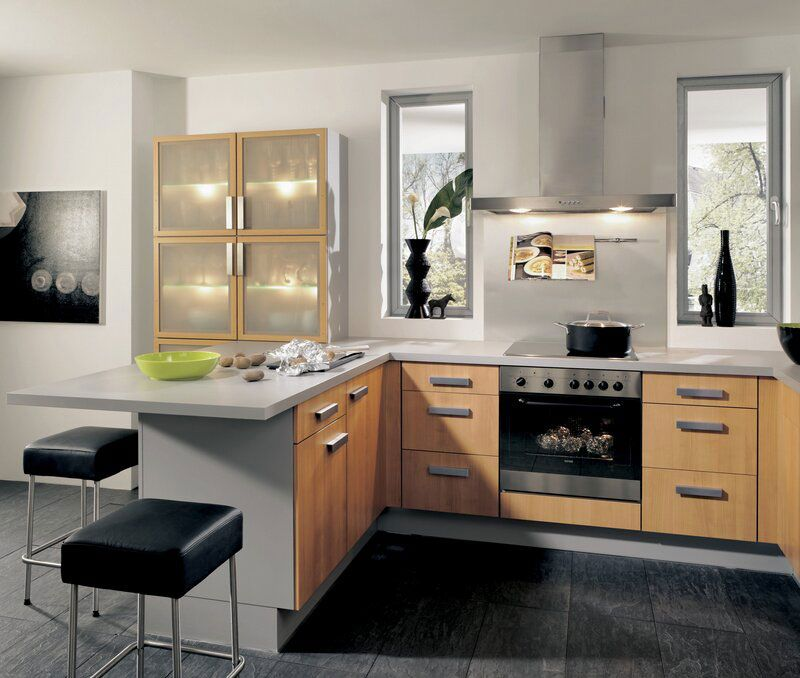 50 Foto di Cucine Moderne con Penisola Mobili rustici da