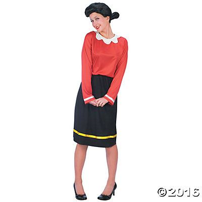 Olive Oyl Halloween Costume for Women