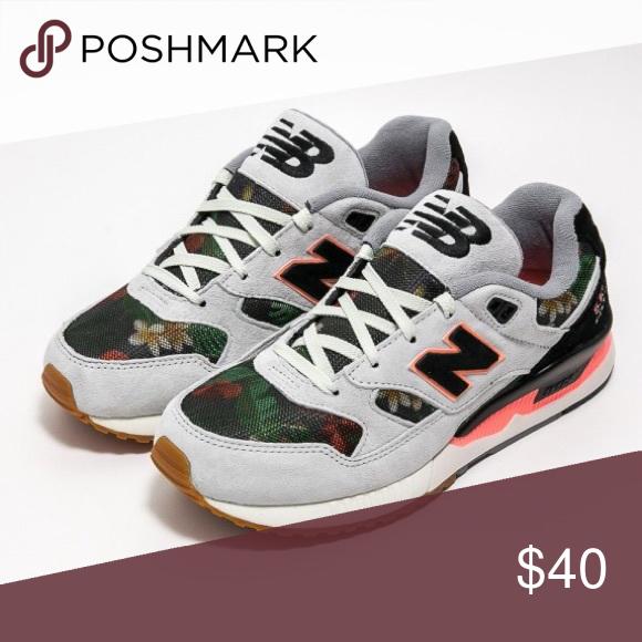 separation shoes 549f5 9ea85 Women's New Balance 530 Floral Ink Steel, Coral & Black ...