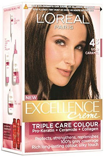 L Oreal Excellence Creme Gold Caramel 4 3 Click On The Image For Additional Details Hair Color Chart Blonde Hair Color Chart Brown Hair Color Shades