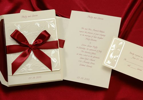 78 Best images about 2013 Wedding Invitation Trends – Wedding Invitations Christmas Theme