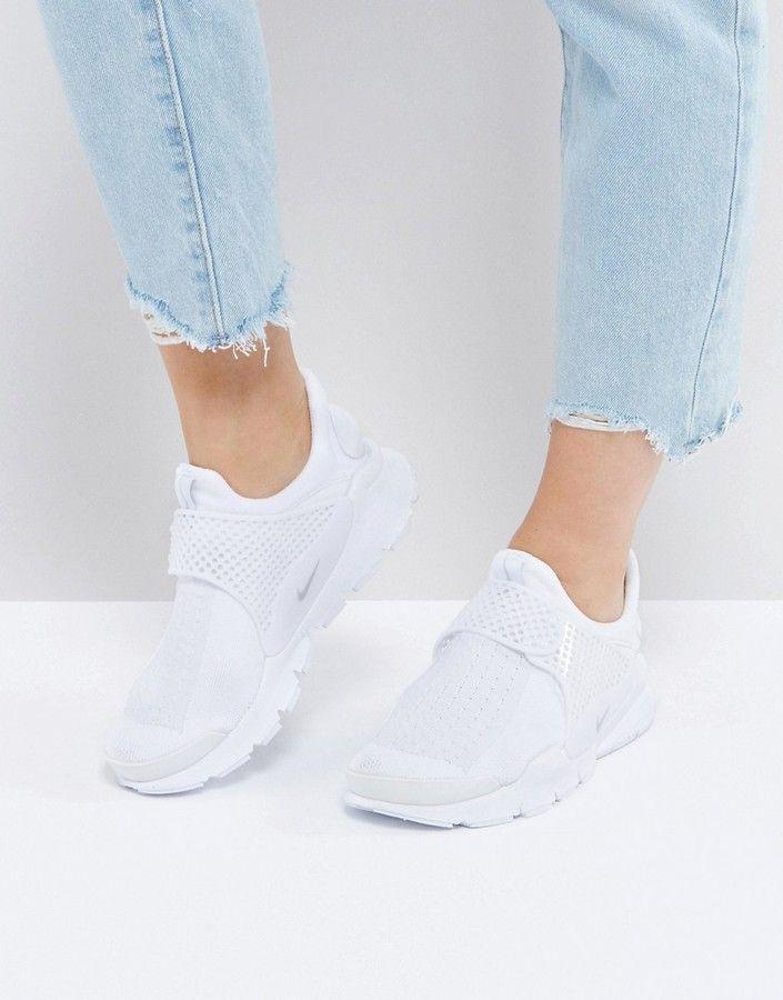 Nike – Sockdart – Weiße Sneaker Damen Mode Trends und
