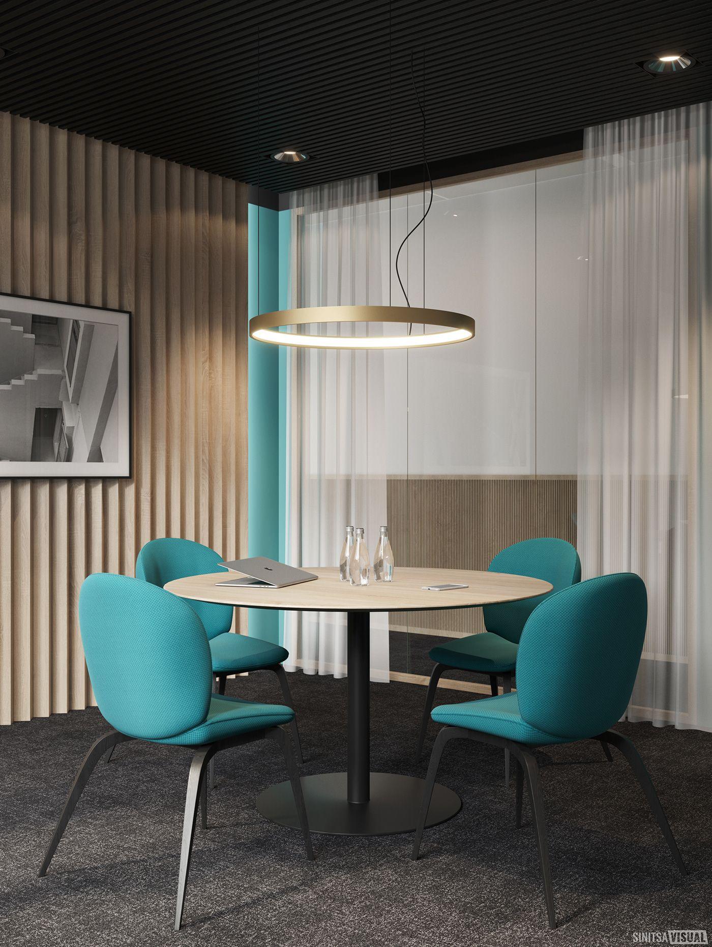Rmp Lounge Meeting On Behance Meeting Room Design Office