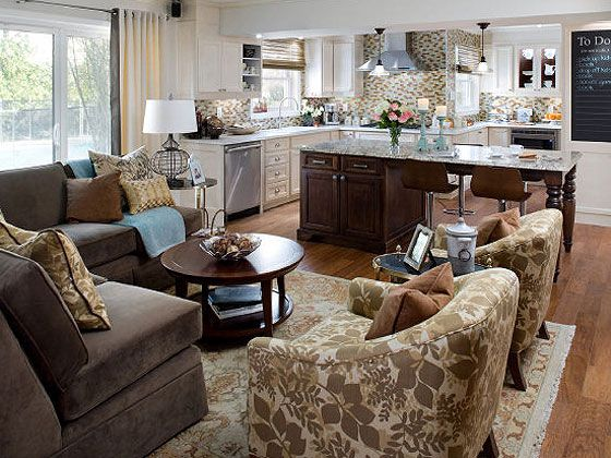Candice Olson Open Kitchen And Living Room Kitchen Design Open Livingroom Layout