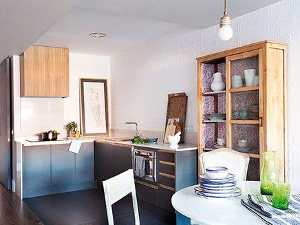 Open keuken voor kleine woonkamer | Inrichting-huis.com | Keuken ...
