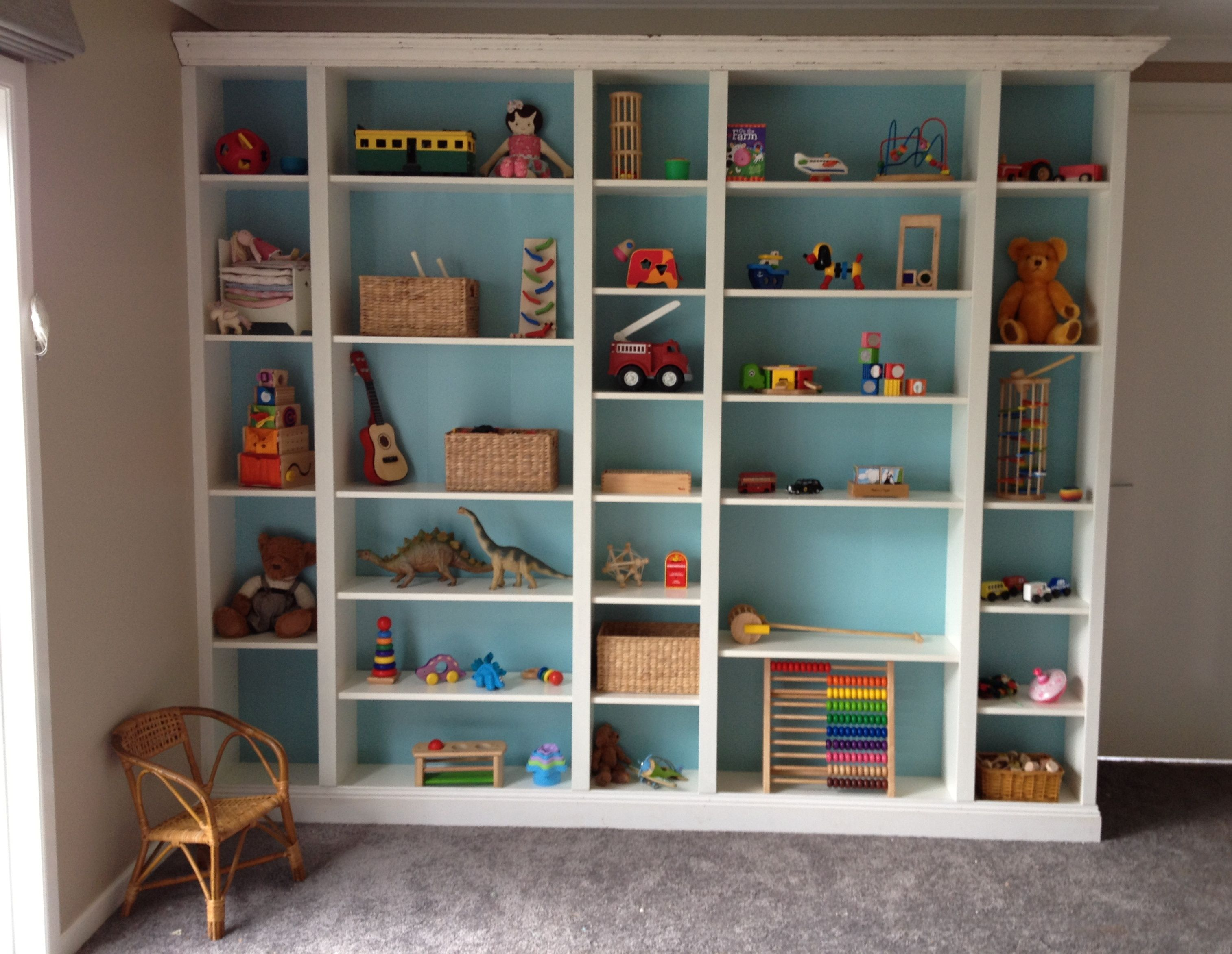 Our Take On The Ikea Billy Built In Bookcase; Slight Eco Twist :)