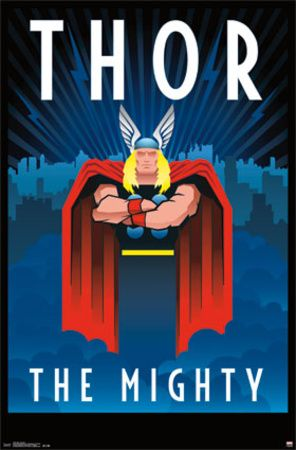 Thor Art Deco Posters Thor Art Art Deco Posters Thor Posters