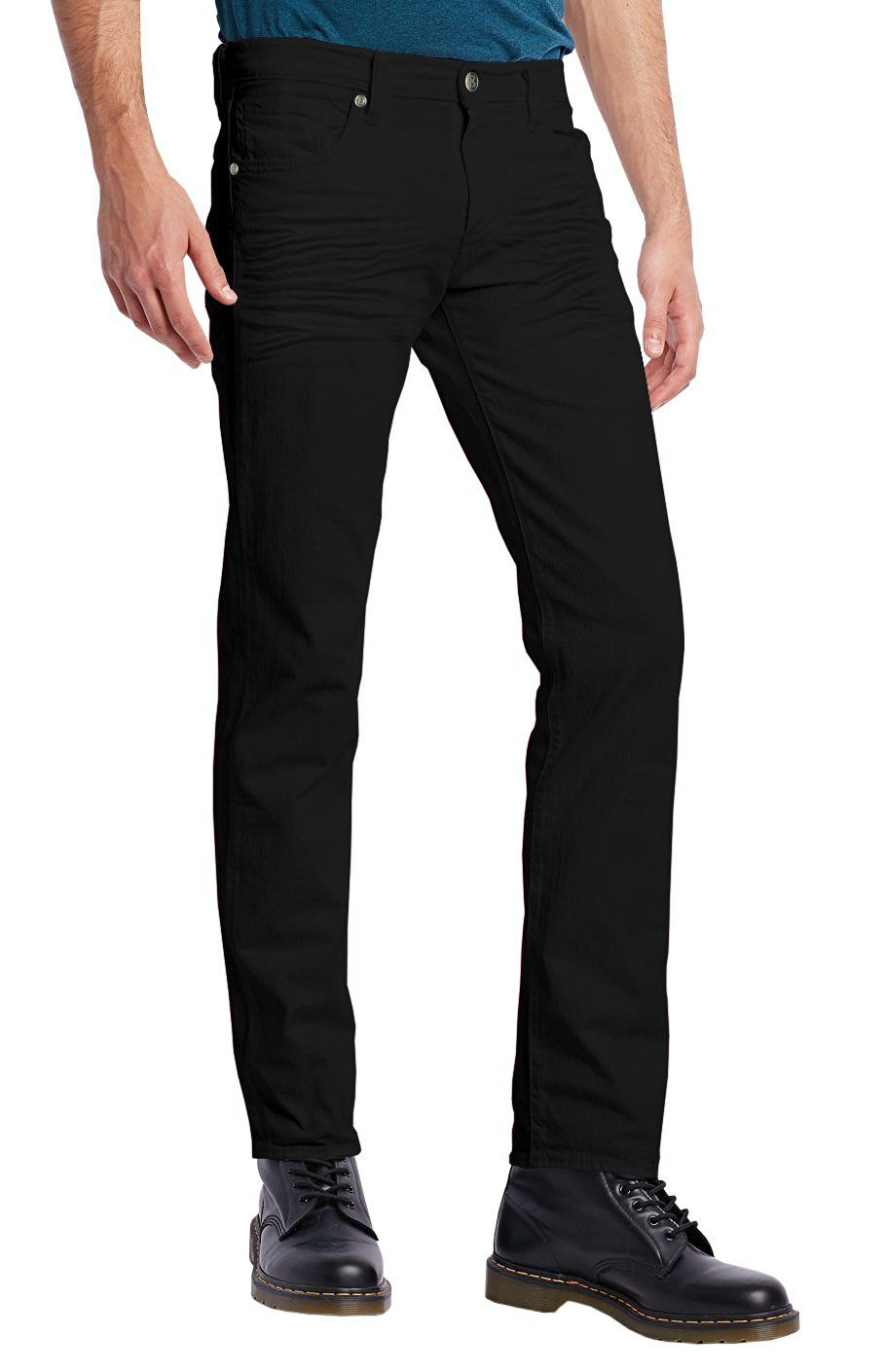 483f331c004 ETHANOL Mens Slim Stretch Motion Flex Denim Five Pocket Jean at Amazon  Men's Clothing store:
