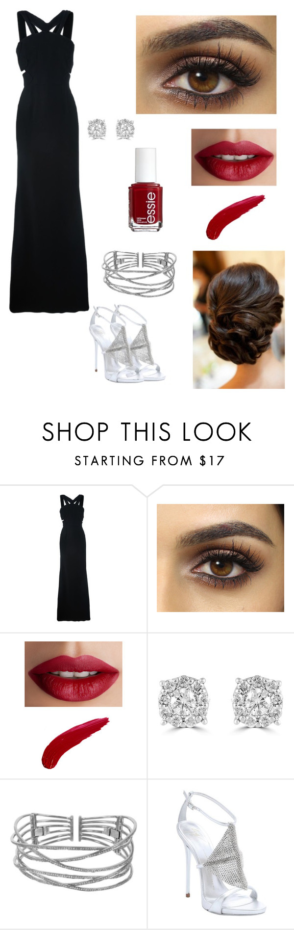 """""""Little Soldier- #1"""" by reyna27937 ❤ liked on Polyvore featuring Roland Mouret, TheBalm, Essie, Effy Jewelry, Plukka and Giuseppe Zanotti"""