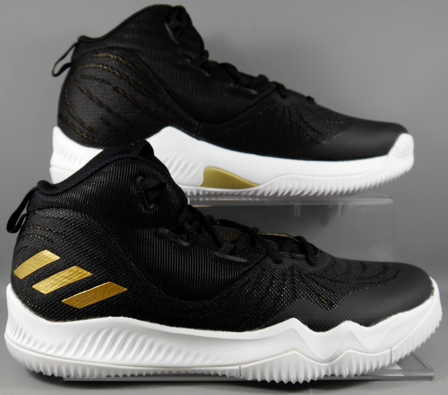 be3a06bc1b97d adidas Derrick Rose Dominate III 3 Black Gold White Men Basketball Shoe    Sneaker CQ0727