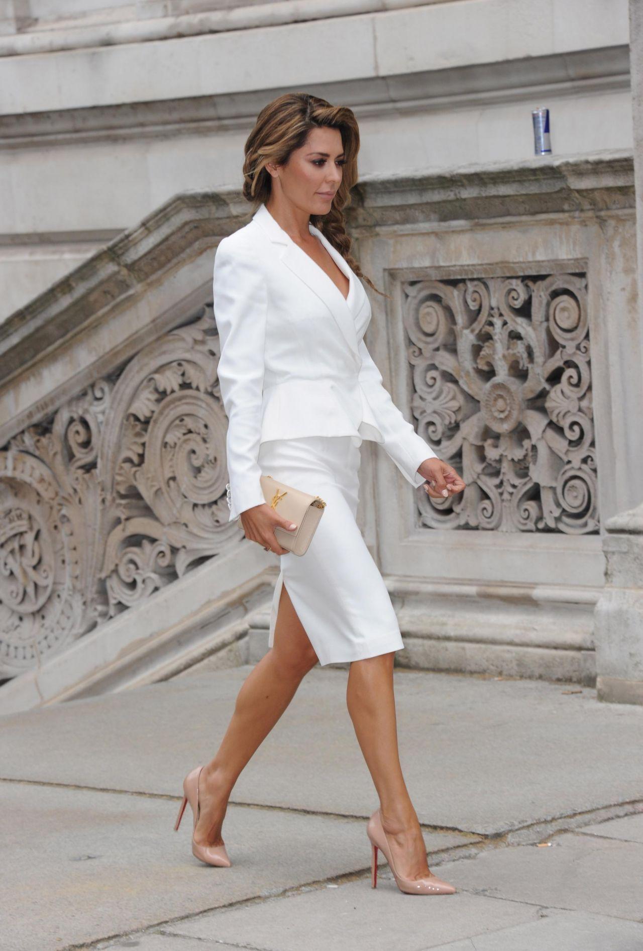 Skirt Suit White