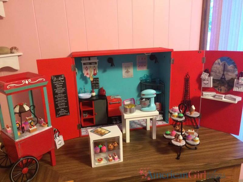 DIY Our Generation Wardrobe Bakery • American Girl Ideas | American Girl Ideas #americangirlhouse