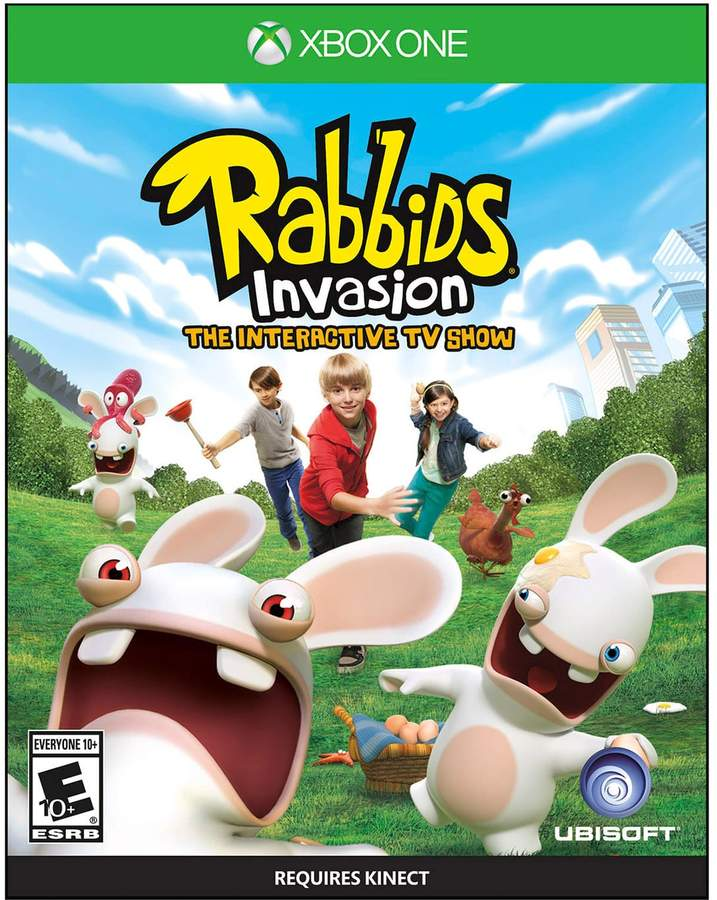 Rabbids Invasion For Xbox One Xbox One Games Xbox One Xbox