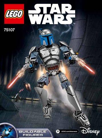 Star Wars Battle Figures - Jango Fett [Lego 75107] | Lego Sets of ...