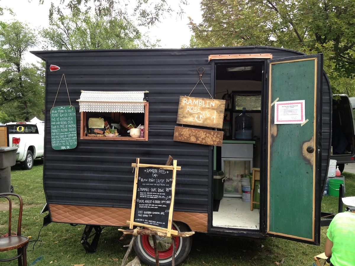Canned Ham Catering Trailer From Starling Travel